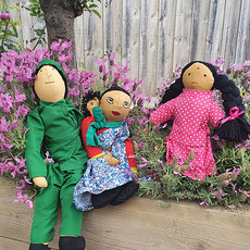 Indian Family Doll Set