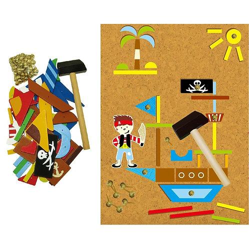 Tap A Shape Set – Pirate