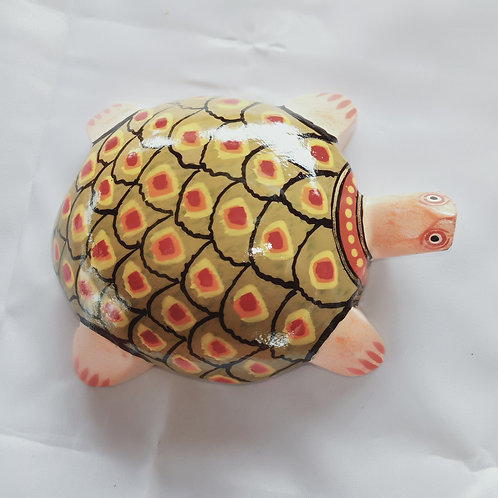 Hand Made Wooden Turtle