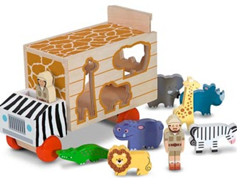 M&D – Animal Rescue Shape Sorting truck