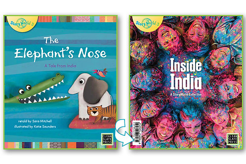 Inside India/Elephant's Nose -Flipside book (India)