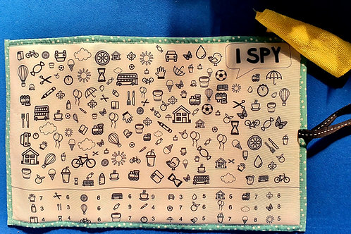 I Spy / ChalkBoard Activity Mat