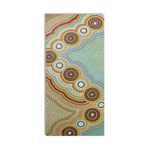 OCEANS GARDEN Kids Yoga Mat Aboriginal Designe