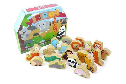 Chunky Zoo Animal Blocks