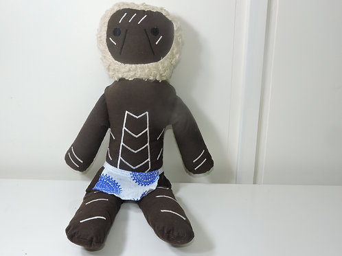 Aboriginal Elder Male Doll