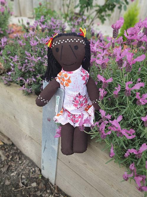 Aborignal inspired   Doll