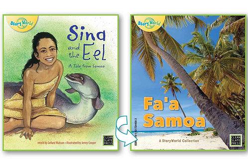 Sina And The Eel / Fa'a Samoa - Flipside book