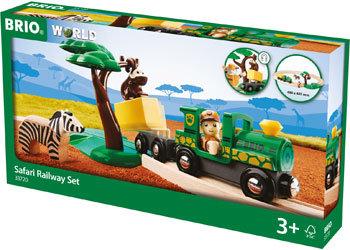 BRIO Set - Safari Railway Set, 17 pieces