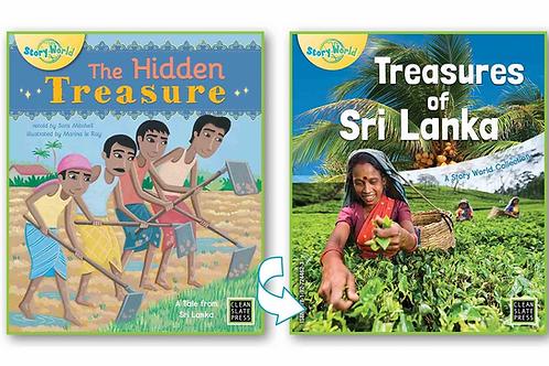 Hidden Treasure, The/Treasures of Sri Lanka - Flipside book  (Sri Lanka)