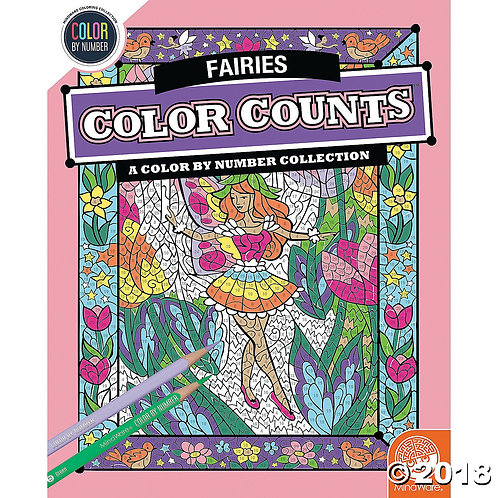 Colour Counts: Fairies