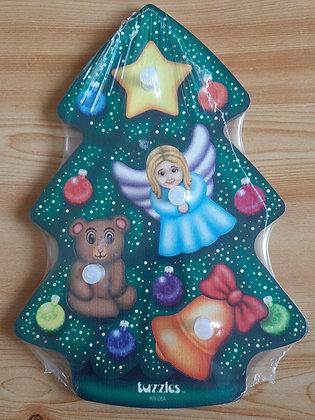 Christmas Tree Knob Puzzle