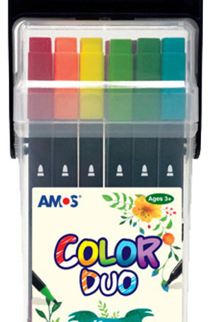 Amos Colour Duo 12 Pack