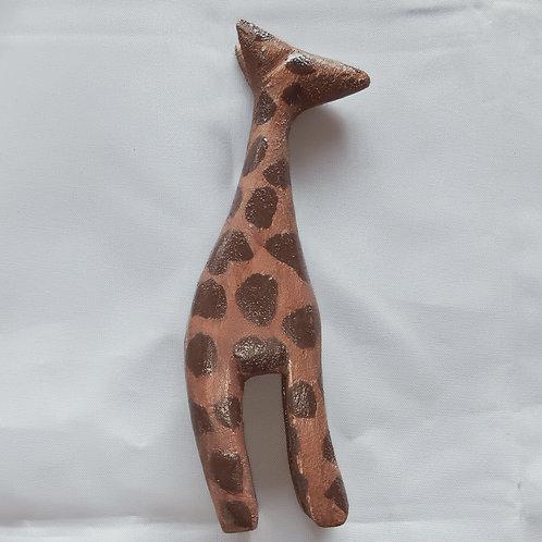 Hand Crafted Wooden Giraffe