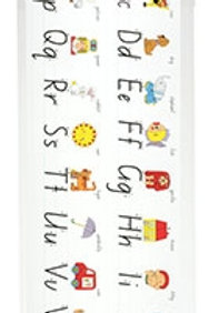 Alphabet Desk Strips Foundation Script - Hangsell