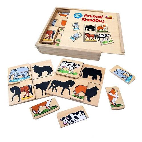 Animal Shadow Puzzle