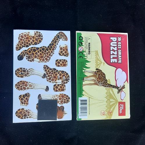 Cardboard Safari 3D Giraffe Puzzle Buy 3 get 2 free