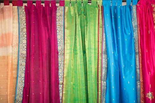 Saree Material Curtains 1.0 mt-1.5 mts