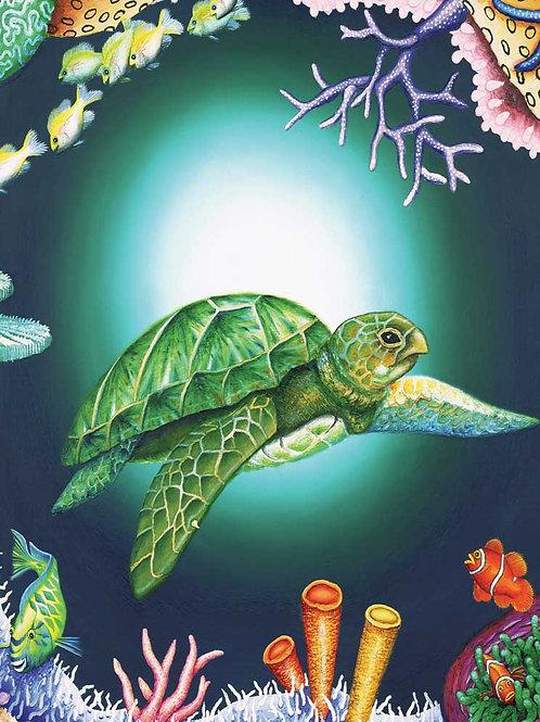 A3 Size - Peace Turtle Puzzle - 12-204 Pc