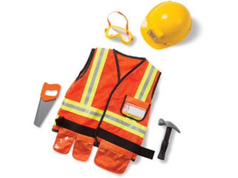 Construction Worker Costume Set