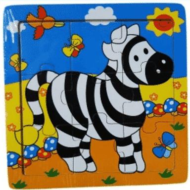 9pc Safari Animal Puzzle