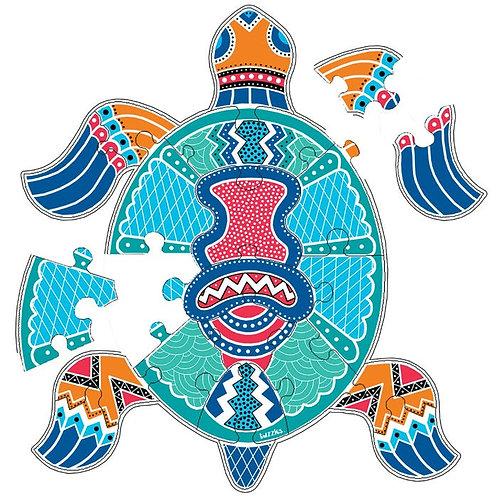 Aboriginal Art turtle Puzzle
