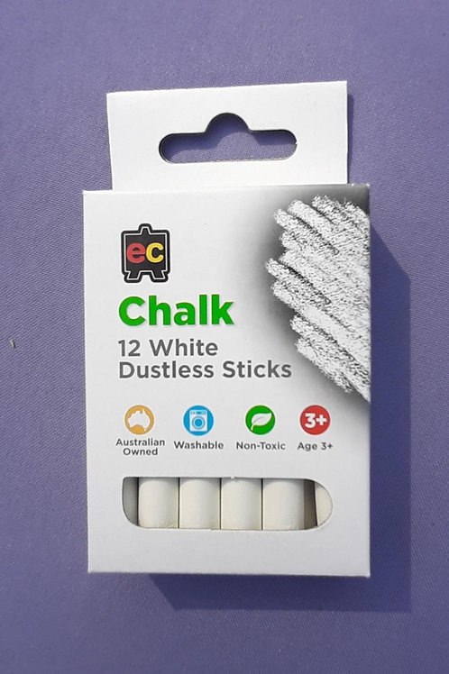 12 Piece Dustless Chalk