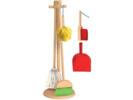 Cleaning Kit with Stand – 6 pieces