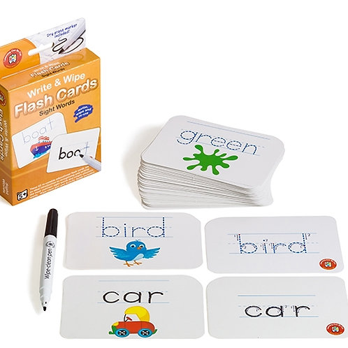 Sight Words Flash Cards - Write & Wipe