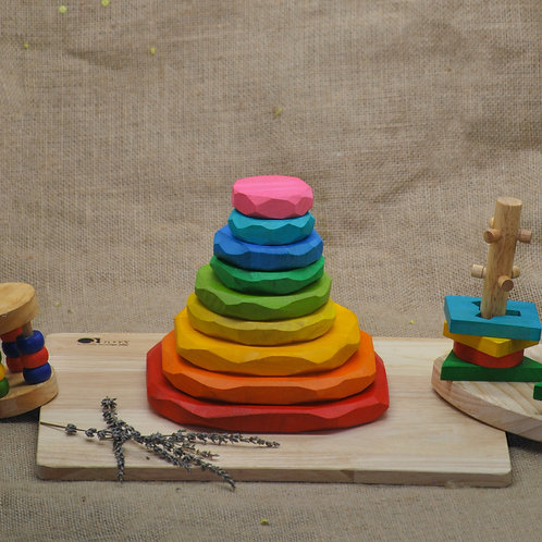 Coloured Stacking Stones