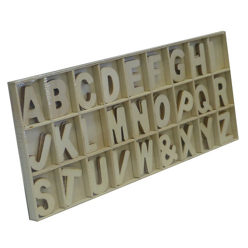 Wooden Alphabet Craft Kit