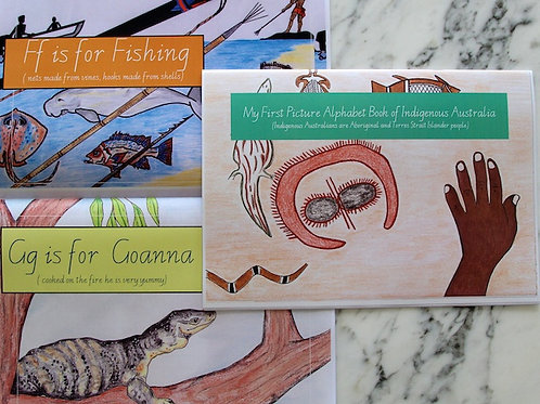 My First Indigenous Alphabet Book