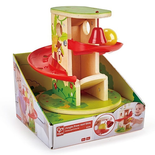 Hape Jungle Press & Slide - Playset
