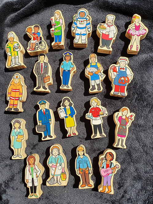 MULTICULTURAL PEOPLE 20PC