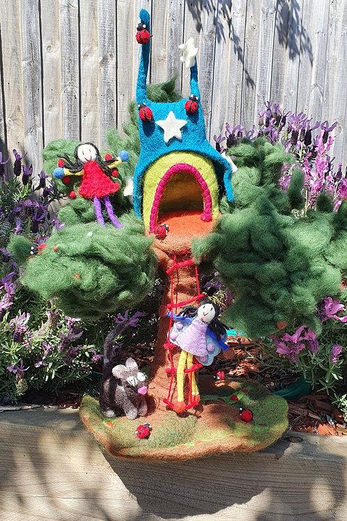 Star Tree Fairy Home