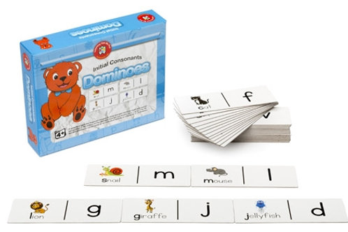 Initial Consonants Dominoes