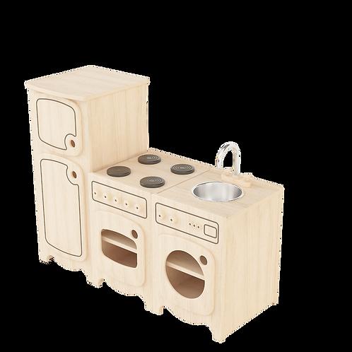 Kitchen Sink / Washing Machine, Oven& Fridge Set of three