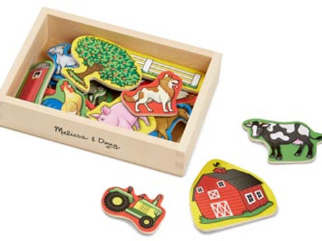 M&D – Magnetic Wooden Farm
