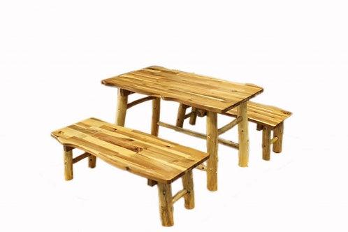 Tree Table & Bench Set
