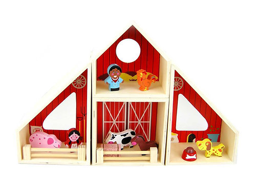 Farm Barn Play Set