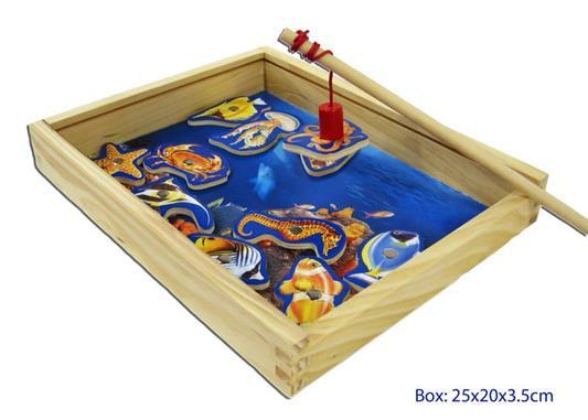 Magnetic Fishing Game  Box
