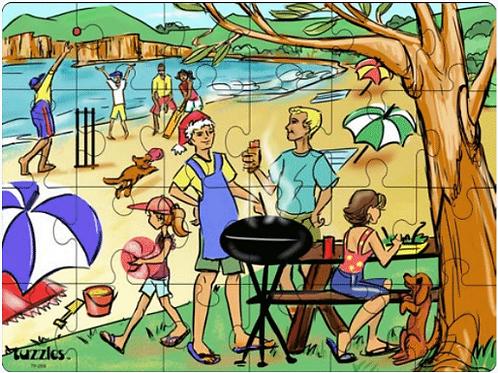 Australian Beach Barbeque