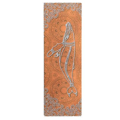 """Aboriginal Design """"SALTWATER LIFE"""" Yoga Mat"""