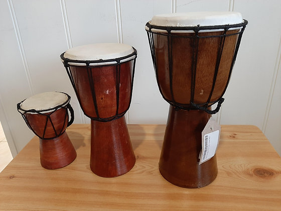 Assorted Djembe Drums