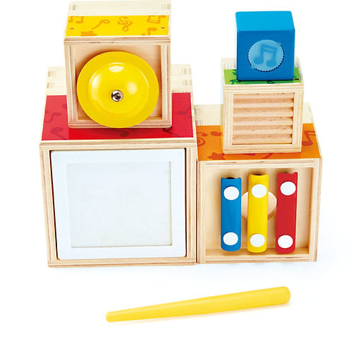 Hape wooden Stacking Music Set