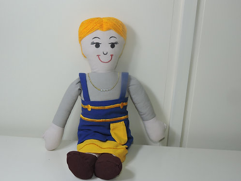 English Inspired European Mamma Doll