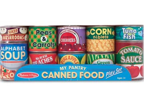 M&D – Wooden canned food – Set of 10
