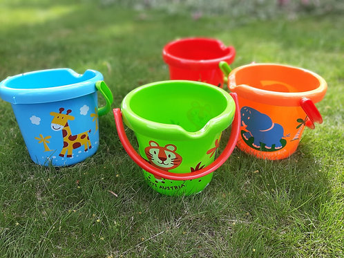 Bucket with Decoration -Summer play