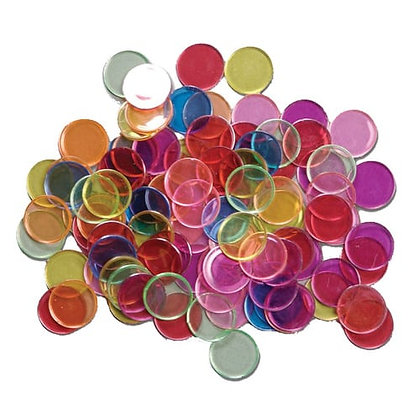 Magnetic chips -100 Pieces