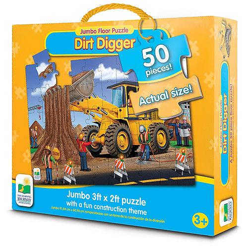Dirt Digger - Jumbo Floor Puzzle