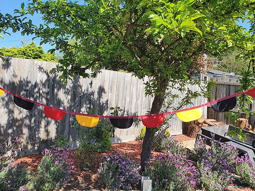 Aboriginal Inspired Coloured Bunting